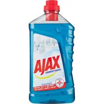 Ajax Υγρό Γενικού Καθαρισμού Απολυμαντικό 2σε1 1L