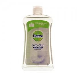 Dettol Αντιβακτηριδιακό Κρεμοσάπουνο Sensitive Με Γλυκερίνη Refill 750ml