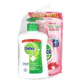 Dettol Κρεμοσάπουνο Original 200ML + Dettol Κρεμοσάπουνο Skincare Refill 175ML