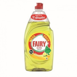 Fairy Ultra Υγρό Πιάτων Lemon 900ml