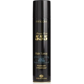 Farcom 555 Hair Spray Λακ Μαλλίων Δυνατό Κράτημα 400ml