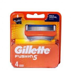 Gillette Fusion5 Ανταλλακτικά Ξυριστικής Μηχανής 4ΤΕΜ