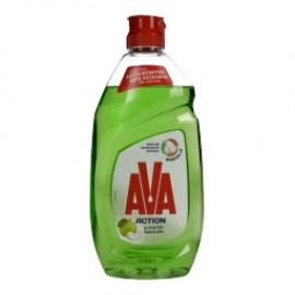 Ava Action Υγρό Πιάτων Ξύδι Πράσινο Μήλο 430ml