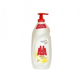 Ava Perle Υγρό Πιάτων Με Αντλία Χαμομήλι Λεμόνι 650ml