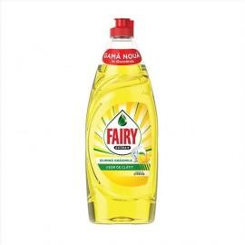 Fairy Ultra Υγρό Πιάτων Extra Plus Lemon 650ml