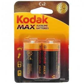 Kodak Max Αλακλικές Μπαταρίες C 2ΤΕΜ