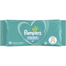 Pampers Μωρομάντηλα Fresh Clean 52 Τεμ.