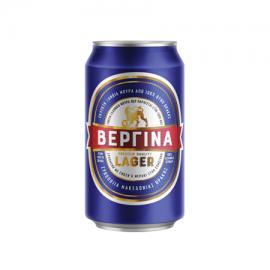 Βεργίνα Lager Μπύρα Κουτί 300ml