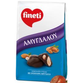 Fineti Σοκολάτα Υγείας Με Ολόκληρα Αμύγδαλα 100gr