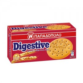 Παπαδοπούλου Digestive Μπισκότα Ολικής 250gr