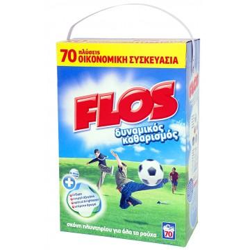 Flos Σκόνη Πλυντηρίου 70M 4.9Kg