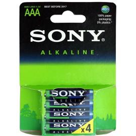 Sony Alkaline AAA Μπαταρίες 4Τεμ