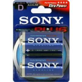 Sony Stamina Plus Alkaline Μπαταρίες D 2Τεμ