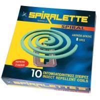 Spiralette Spiral Εντομοαπωθητικό  Φιδάκι 10Τεμ