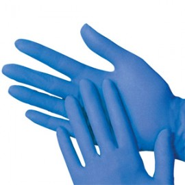 Γάντια Νιτριλίου Χωρίς Πούδρα Large 100τεμ