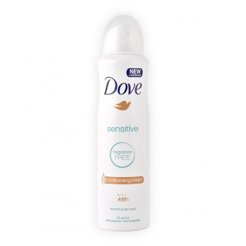 Dove Sensitive Spray Αποσμητικό 150ML