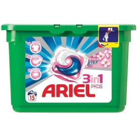 Ariel Υγρές Κάψουλες Πλυντηρίου Ρούχων 3σε1 Lenor 15ΤΕΜ