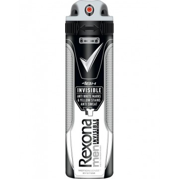 Rexona Men Invisible Αποσμητικό Spray 150ml