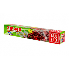 Alufix ΜΙΧ Σακούλες Τροφίμων ZIP-FIX 15ΤΕΜ
