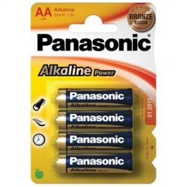 Panasonic Alkaline Power Μπαταρίες ΑΑ 4ΤΕΜ