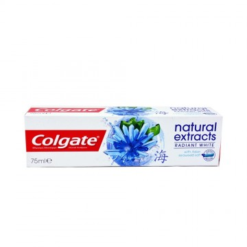Colgate Οδοντόκρεμα Natural Extracts Radiant White 75ml