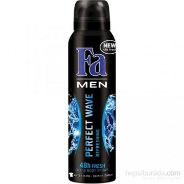 Fa Men Perfect Wave Αποσμητικό Spray Σώματος 150ml