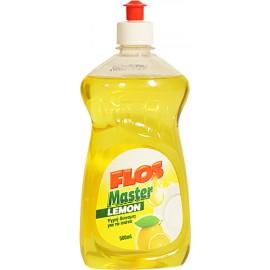 Flos Master Lemon Υργό Πιάτων 500ml