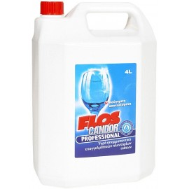 Flos Candor Professional Υγρό Πλυντηρίου Πιάτων 4L
