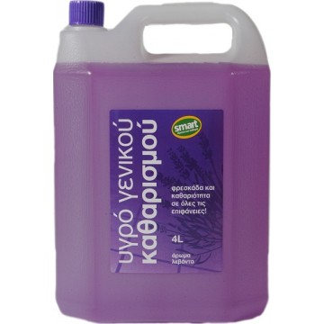 Flos Smart Υγρό Γενικού Καθαρισμού Λεβάντα 4L