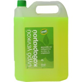 Flos Smart Υγρό Γενικού Καθαρισμού Λεμόνι 4L