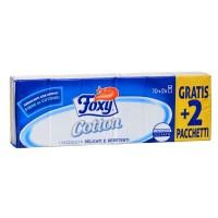 Foxy Cotton Χαρτομάντηλα 4φυλλα 10+2 Δώρο