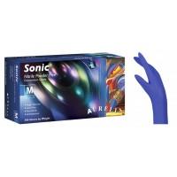 Γάντια Νιτριλίου Χωρίς Πούδρα Μώβ Medium 100τεμ