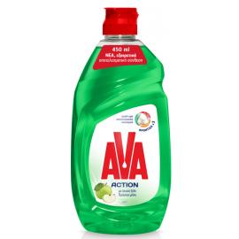 Ava Action Υγρό Πιάτων Ξύδι και Μήλο 450ml