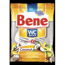 Bene WC Block Κρεμαστό Λεκάνης Coconut 40GR