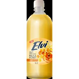 Elvi Κρεμοσάπουνο Milk & Honey 1L