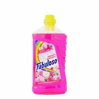 Fabuloso Aroma Sensations Υγρό Γενικού Καθαρισμού Φρεσκάδα Λουλουδιών 1L