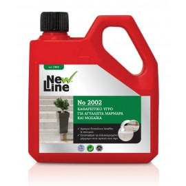 New Line Καθαριστικό Αγυάλιστων Μαρμάρων 2002 1L
