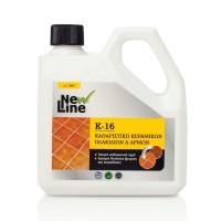 Κ-16 Ισχυρό καθαριστικό υγρό κεραμικών πλακιδίων & αρμών 1L