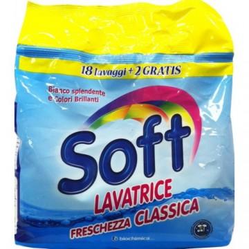 Soft Σκόνη Πλυντηρίου Classic 20MEZ 1.32kg