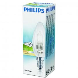 PHILIPS Λάμπα Αλογόνου ECO CLASSIC E14 42W (55W) ΚΕΡΙ