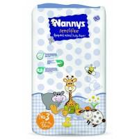 Nannys Sensitive Παιδικές Πάνες Ν.3 Midi 4-9kg 54ΤΕΜ