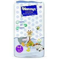 Nannys Sensitive Παιδικές Πάνες Ν.4 Maxi 8-18kg 48ΤΕΜ