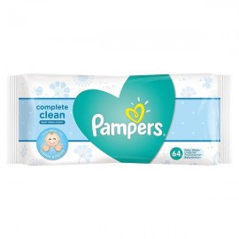 Pampers Μωρομάντηλα Complete Clean Fresh 64 Τεμ.