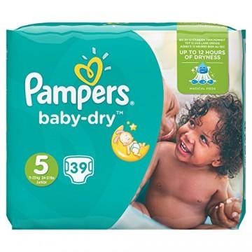 Pampers Baby Dry N.5 11-23kg Junior 39 TEM