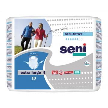 Seni Active Πάνα Βρακάκι Ενηλίκων Extra Large N.4 10ΤΕΜ