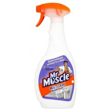 Mr Muscle Καθαριστικό Spray Για Το Μπάνιο 500ml