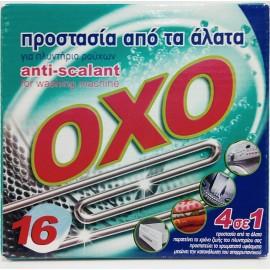 OXO Αποσκληρυντικό Νερού 4σε1 Πλυντηρίου Ρούχων 16ΤΕΜ