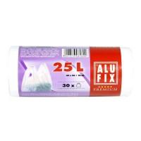 Alufix Σακούλες Απορριμάτων Με Λαβές 45Χ50εκ 25L 30Τεμ.