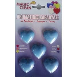 Magic Clean Αρωματικές Καρδούλες 5τεμ