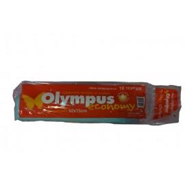 Olympus Σακούλες Απορριμάτων Με Κορδόνι 52Χ75εκ 10ΤEM